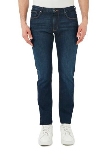 Emporio Armani  Slim Fit Pamuklu J06 Jeans Erkek Kot Pantolon S 8N1J06 1V0Lz 0941 Mavi
